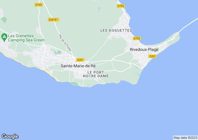 Map for ste-marie-de-re, Charente-Maritime, France