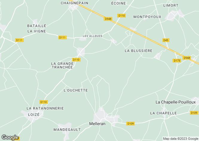 Map for les-alleuds, Deux-Sèvres, France