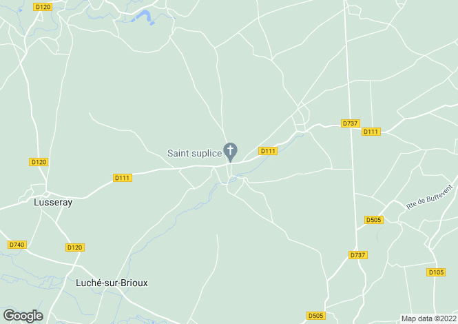 Map for Tillou, Deux-Sèvres, 79110, France