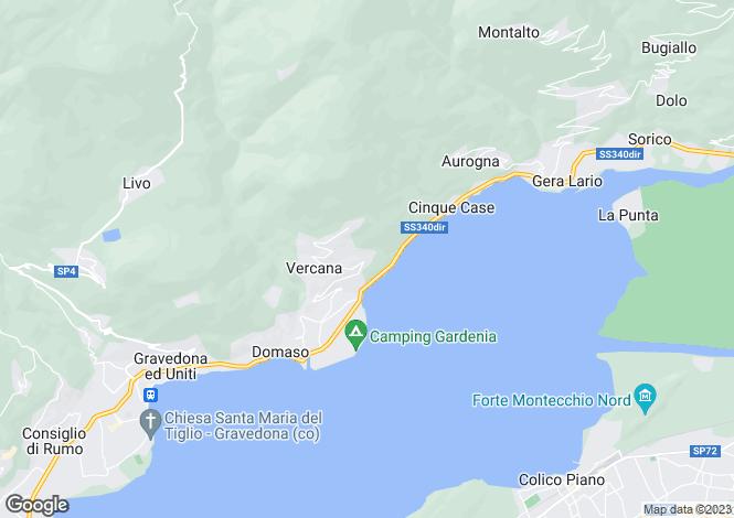 Map for Vercana, 22013, Italy