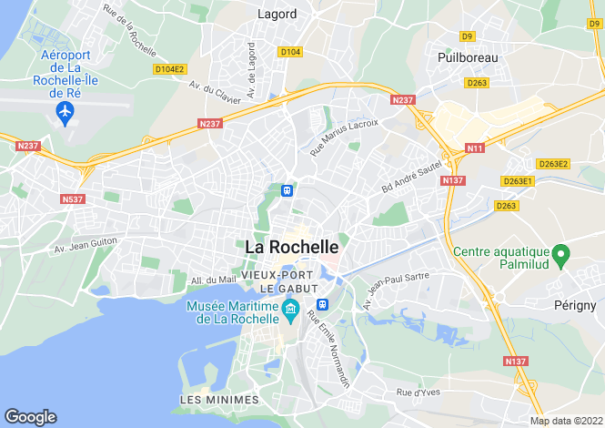 Map for la-rochelle, Charente-Maritime, France