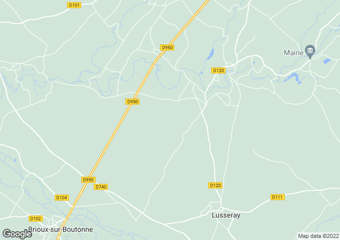Map for 79500 PAIZAY-LE-TORT, Deux-Sevres, France