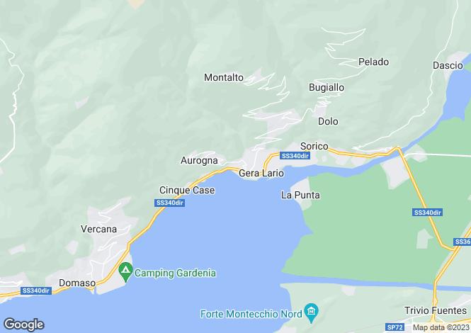 Map for Gera Lario, 22010, Italy