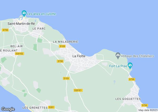 Map for Secteur : St Martin de Re, Charente Maritime