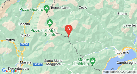map of Pilone (Italy)
