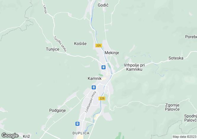 Map for Kamnik, Kamnik