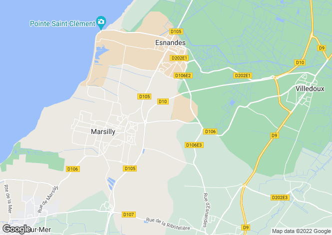 Map for marsilly, Charente-Maritime, France