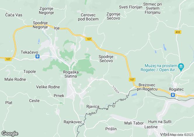 Map for Rogaska Slatina, Smarje pri Jelsah