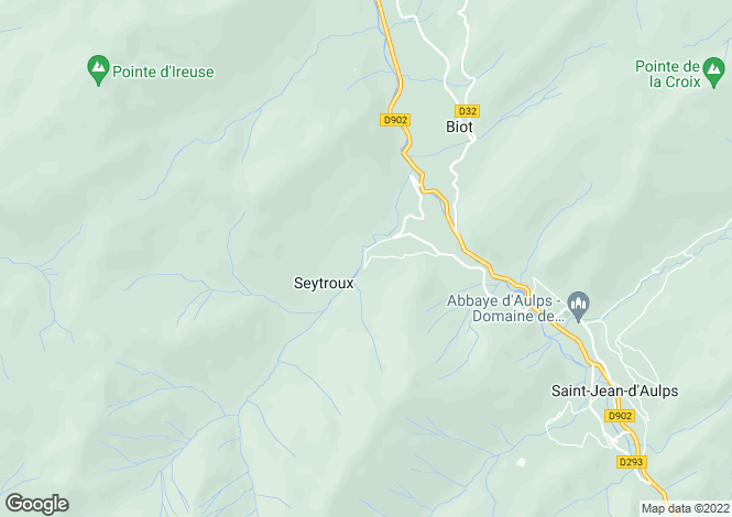 Map for Seytroux, Haute-Savoie, Rhone Alps