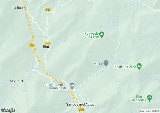 Map for Le Biot ,Haute Savoie ,France