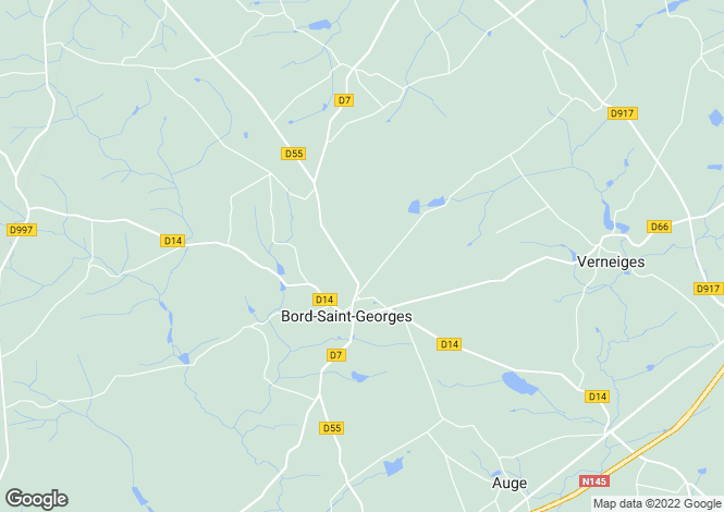 Map for bord-st-georges, Creuse, France