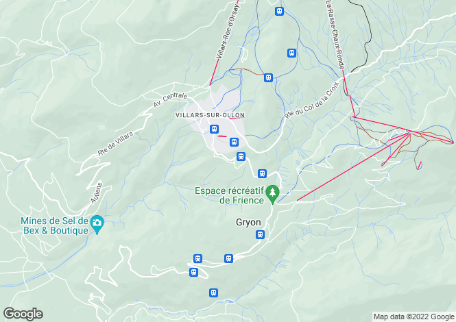 Map for Villars, Vaud