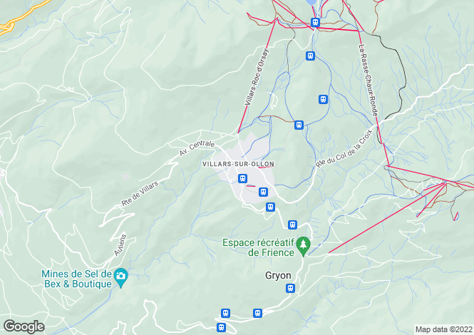 Map for Royalp, Villars, Vaud, Switzerland