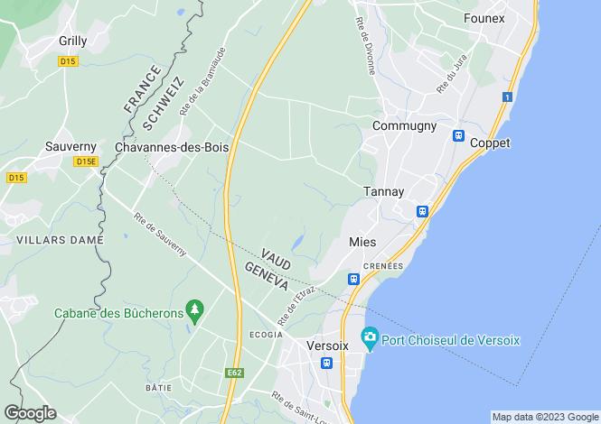 Map for Vaud, Mies