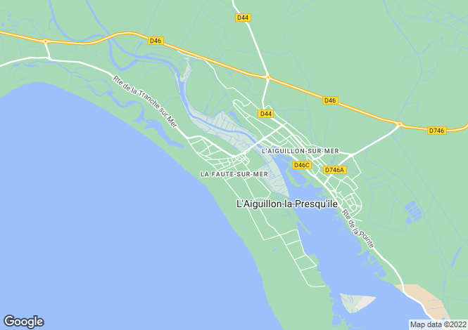 Map for Proche/Near La Faute-sur-Mer, Vendee