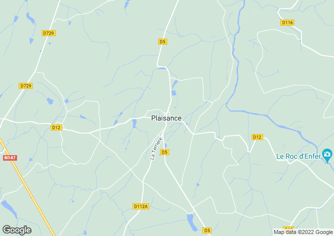 Map for plaisance, Vienne, France