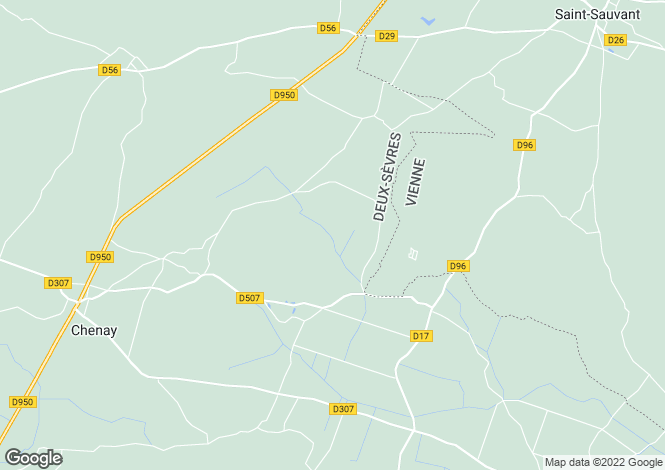 Map for Chenay, Deux-Sèvres, Poitou-Charentes