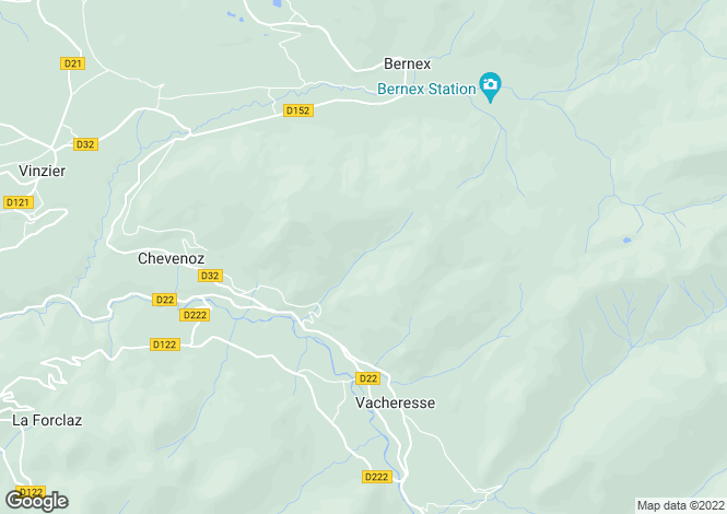 Map for Large farmhouse in 3 ha plot, Vacheresse
