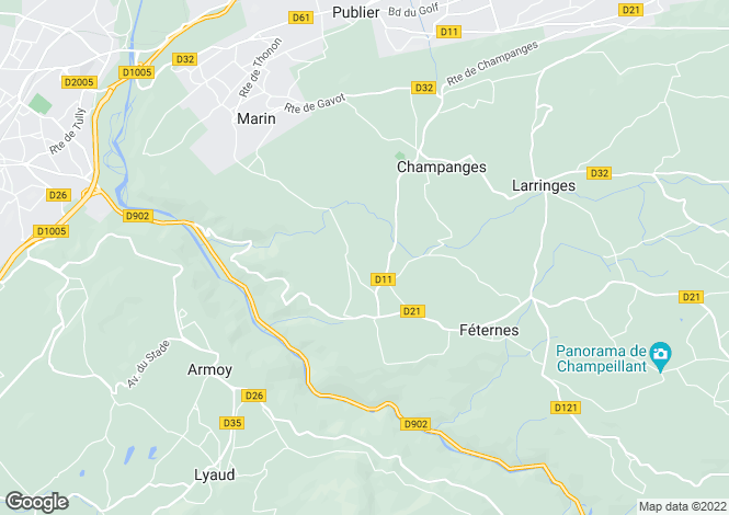Map for Auribeau-sur-Siagne, 06810, France