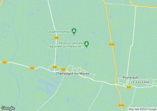 Map for Puyravault, Vendée, Pays de la Loire