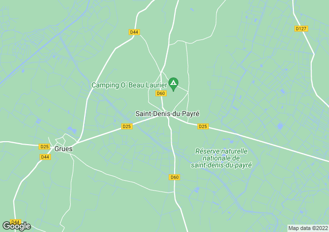 Map for st-denis-du-payre, Vendée, France