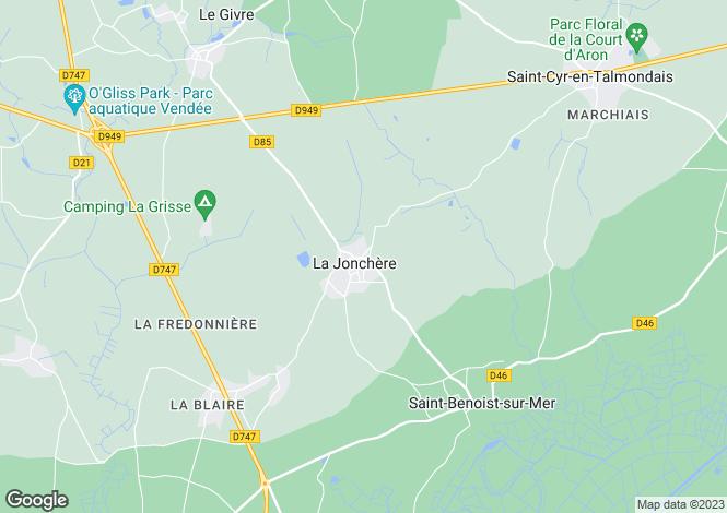 Map for LA JONCHERE, Pays de la Loire