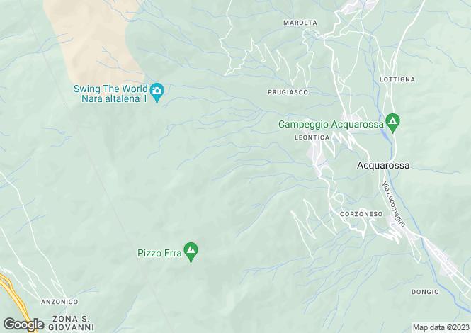Map for Ticino, Acquarossa