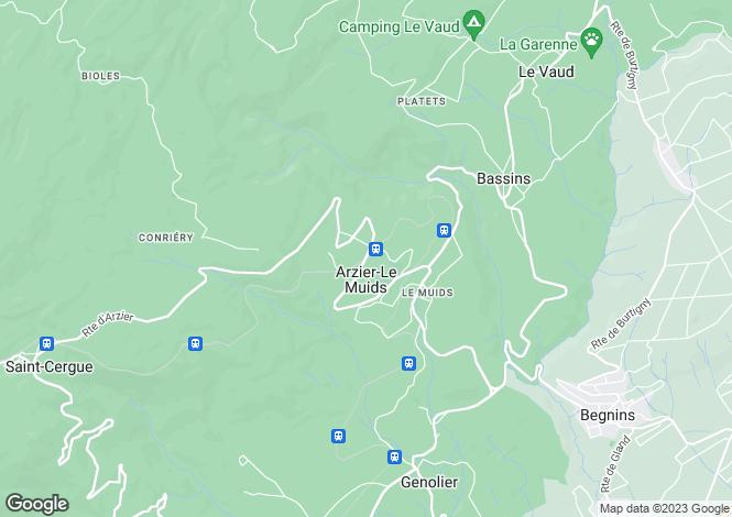 Map for Switzerland - Vaud