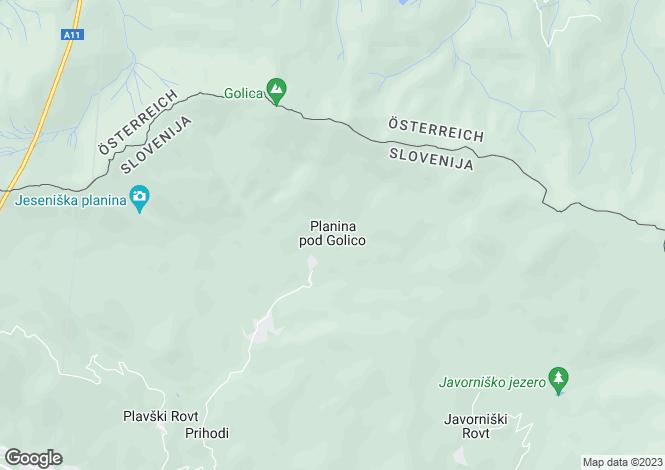 Map for Jesenice, Jesenice