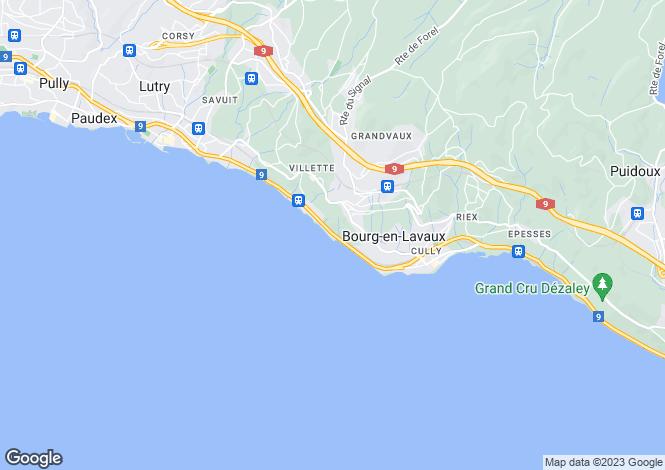 Map for Switzerland