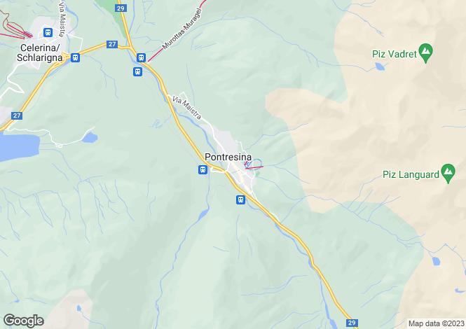 Map for Park Residences, Pontresina, Switzerland