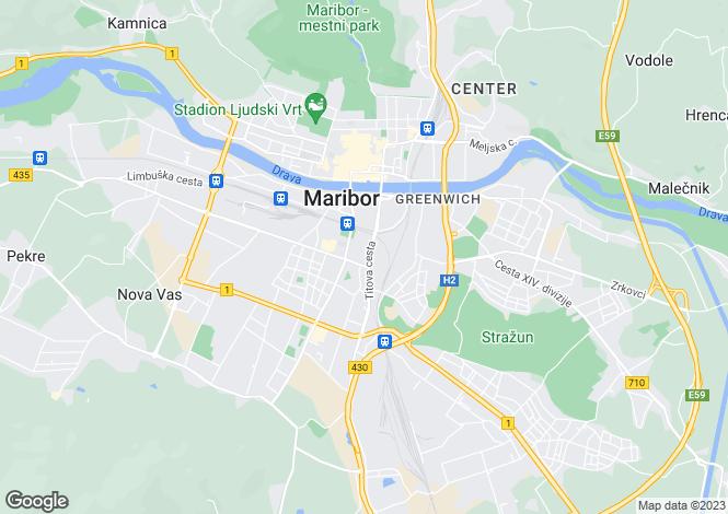 Map for Maribor, Maribor