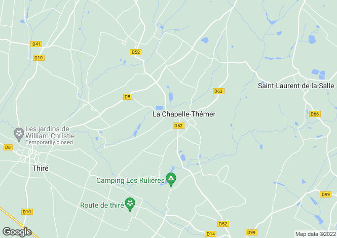 Map for Chapelle-Themer, Vendee