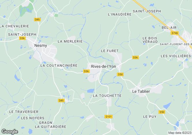 Map for chaille-sous-les-ormeaux, Vendée, France