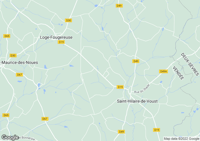 Map for , Vendée, France