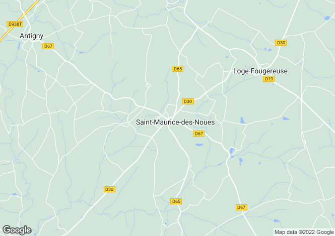 Map for st-maurice-des-noues, Vendée, France