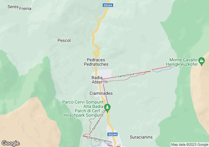 Map for Badia