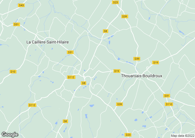 Map for la-caillere-st-hilaire, Vendée, France