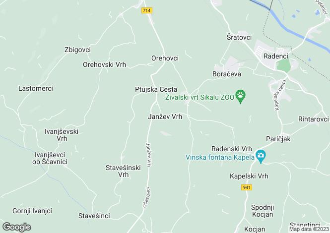 Map for Gornja Radgona, Gornja Radgona, Slovenia