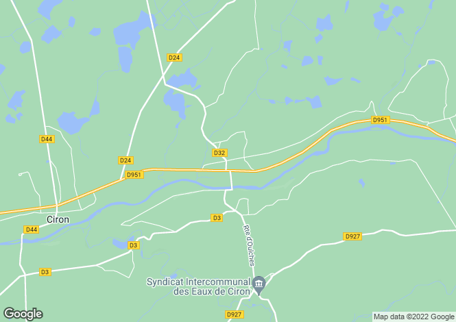 Map for scoury, Indre, France