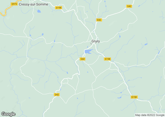 Map for Grury, Bourgogne, 71760, France