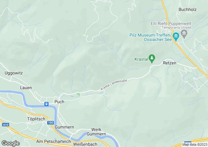 Map for Treffen, Villach-Land, Carinthia