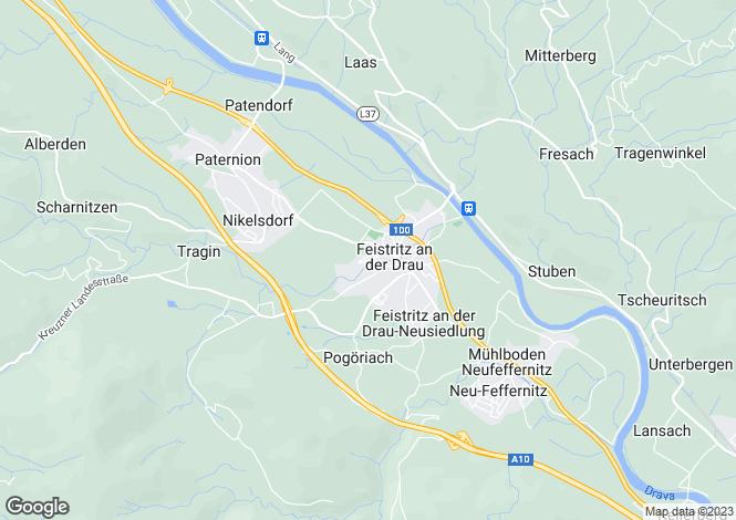 Map for Fresach, Villach-Land, Carinthia