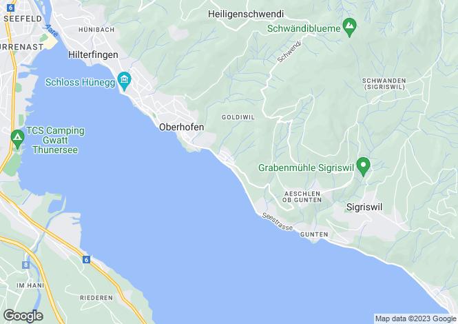 Map for Switzerland - Bern
