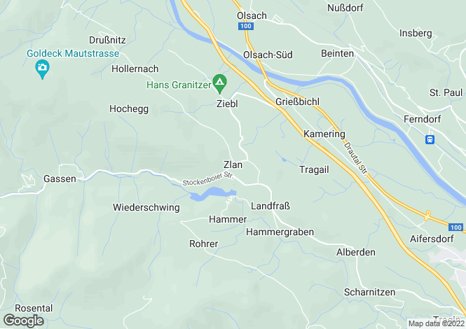 Map for Kärnten, Spittal an der Drau, Spittal an der Drau, Austria