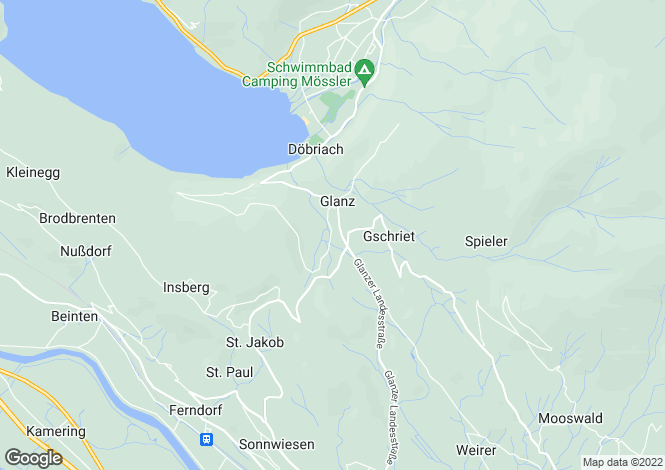 Map for Ferndorf, Villach-Land, Carinthia