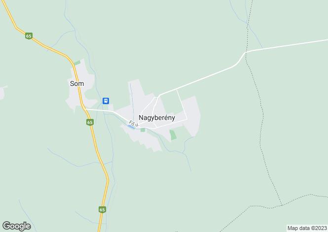 Map for Nagyberény, Somogy
