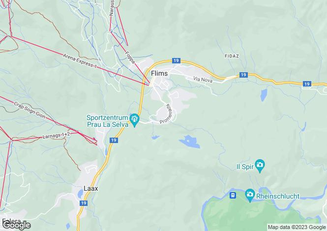 Map for Graubünden
