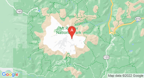 map of Little Tahoma Peak (United States of America)