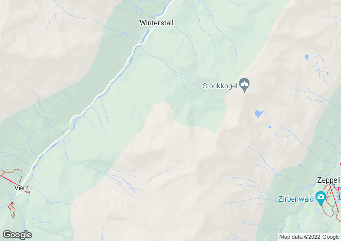 Map for Sölden, Imst, Tyrol